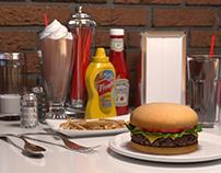 Diner Tabletop - Maya