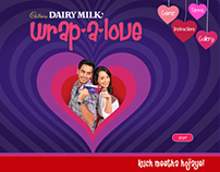 Cadbury Dairy Milk - Wrap-a-love