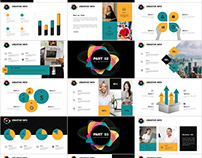 Multicolor Annual PowerPoint template