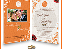 WEDDING DESIGN - Invitation Card & Save the Date
