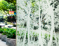 Orchard Road Sculptures