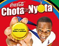 Coca-Cola Chota na Nyota campaign