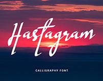 Hastagram - Free Font