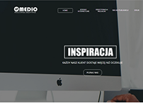 Medio - website build in Webwave creator.