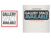 Gallery Space Available