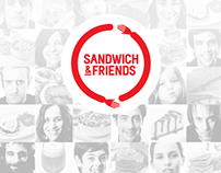 Sandwich&Friends website