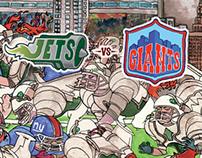 New York Rivals: Jets V Giants