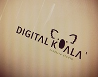 Digital Koala creative studio LOGO