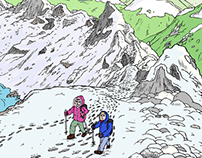 Hike Helvellyn Scroll: Mountain Walk