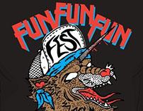 Fun Fun Fun Fest T-Shirt Design