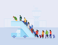 Google flights error page