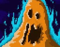 """""""Slimes"""" Pixel Art"""