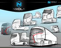 Nikola concept truck