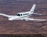 EagleAir Cessna 402B Air-to-Air