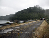 2016 Dam Marathon  Oakridge, Oregon