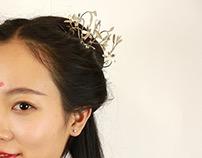 Flower Blossom Hairpin