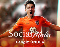 Cengiz Ünder - MatchDay Social Media Post