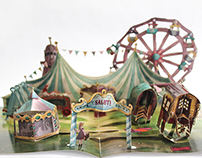 Cirque Bohémien - A Pop-Up Book