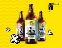 Lohn Bier | Full Rebranding