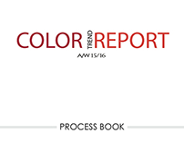 Process Book for Color Trend Report A/W 15-16