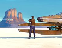 In White Desert