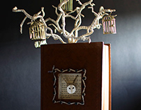 Uncaged - Book Sculpture