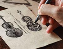Mechanics of musical instruments