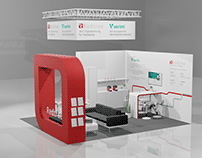3D - Messestand Redtree E-World 2020