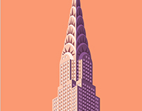 Architectural sights of New York City