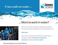 Ionex SG Print Ad