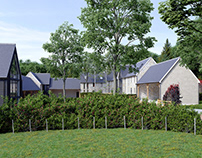 Barn Development CGI | Wye Valley