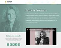 Website Patrícia Prudente