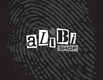 Alibi Shop. Brand identity