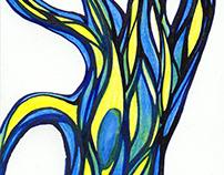 Padure in culori