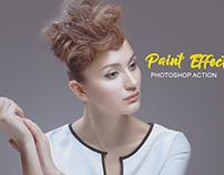 Paint Effect Photoshop Action