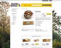 Online shopping: cheese