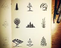 3x3 Sketch Book