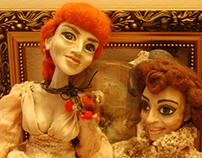 "Boudoir dolls ""The Ladies""."