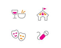 RushTix Icons
