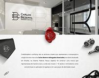 Carlos Bezerra Advogados Associados Branding