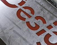 Design department signboard