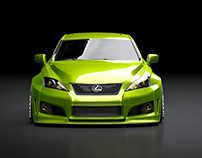 Lexus IS-F Widebody