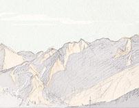 montenegro-qotorre bell mattina sul montagne