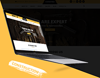 Constru - Construction PSD Template Design