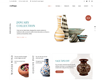 Craftego - Multi-concept Store | PSD Template