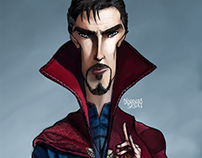 Doctor Strange Caricature