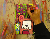 painting happy_miniz video