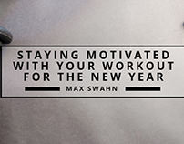 Staying Motivated With Your Workout For The New Year