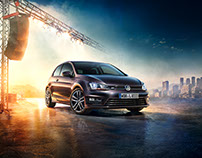Volkswagen Club & Lounge Billboard Campaign 2015