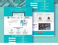 B2B Landing Page Design